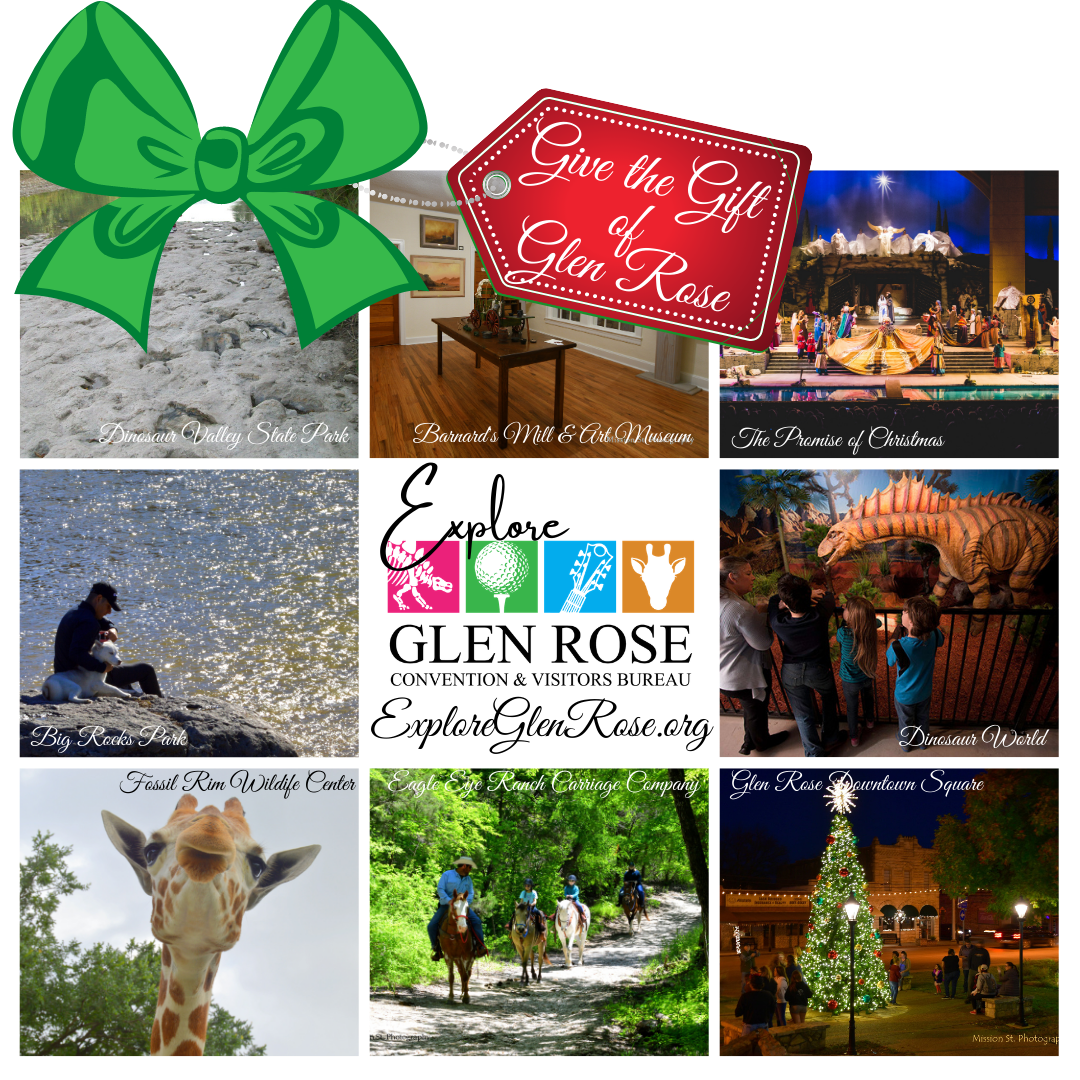 Give the Gift of Glen Rose Collage